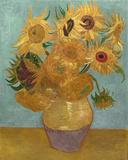 Sunflowers, c.1889 Reproduction d'art par Vincent Van Gogh