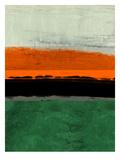 Abstract Stripe Theme Orange