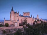 Spain  Castilla Y Leon Region  Segovia Province  Segovia  the Alcazar