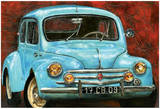 4 CV Bleue