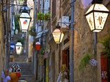 Lanterns  Dubrovnik  Dalmatia  Croatia