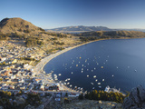 View of Copacabana  Lake Titicaca  Bolivia