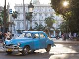 Cuba  Havana  Havana Vieja  Detail of 1950s-Era US Car
