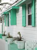 Bahamas  Eleuthera Island  Harbour Island  Dunmore Town  House Detail