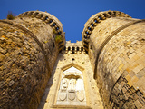 St Catherine's Gate  Rhodes Town  Rhodes  Greece