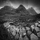 UK  Scotland  Highland  Glen Coe  the Three Sisters