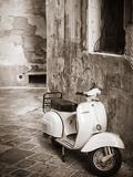 Italy  Apulia  Lecce District  Salentine Peninsula  Salento  Lecce  Vespa Scooter