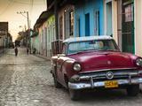 Cuba  Sancti Spiritus Province  Trinidad  1950s-Era US-Made Ford Car