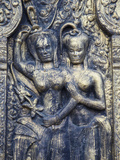 Bas-Relief at Wat Phnom  Phnom Penh  Cambodia