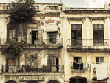 Cuba  Havana  Havana Vieja  Building Detail  Plaza Del Cristo