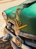 Cuba  Sancti Spiritus Province  Trinidad  1950s-Era US-Made Cadillac Taxi
