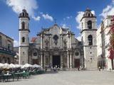 Cuba  Havana  Havana Vieja  Plaza De La Catedral  Catedral De San Cristobal De La Habana Cathedral