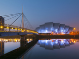 UK  Scotland  Glasgow  Scottish Exhibition and Conference Centre Secc  or Armadillo  Beside River C