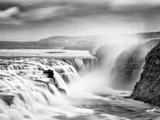 Gullfoss Waterfall, Iceland Papier Photo par Nadia Isakova