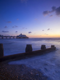 Eastbourne Pier at Sunrise  Eastbourne  East Sussex  England  UK