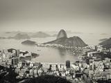 Brazil  Rio De Janeiro  Sugar Loaf (Pao De Acucar) and Morro De Urca in Botafogo Bay