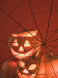 Pumpkin Lanterns and Cobweb (Halloween Decorations)