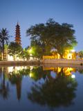 Tran Quoc Pagoda  West Lake (Ho Tay)  Hanoi  Vietnam