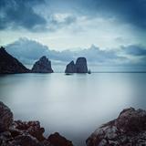 Italy  Campania  Napoli District  Capri  Faraglioni
