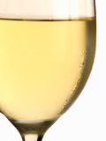 White Wine Glass with Condensation