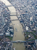 View of London from the Air  England  UK