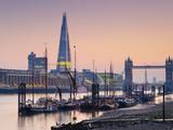UK  England  London  Tower Bridge and the Shard (By Renzo Piano)