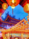 Thean Hou Chinese Temple  Kuala Lumpur  Malaysia