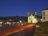 Saint Francis of Assisi Church at Dusk  Ouro Preto (UNESCO World Heritage Site)  Minas Gerais  Braz