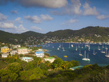 St Vincent and the Grenadines  Bequia  Port Elizabeth  Elevated Town View from the Hamilton Batter