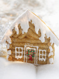 Maple Log Cabin (Gingerbread House with Maple Syrup  USA)