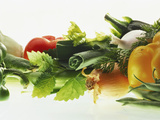 Fresh Vegetables with Herbs