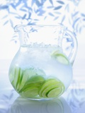 A Jug of Water with Limes