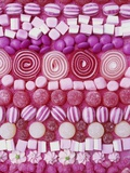 Assorted Pink Sweets