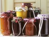 Jams and Sauces in Jars