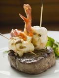Surf and Turf (Seafood and Beef Steak)