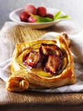 Puff Pastry Pastries with Plums