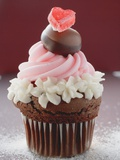 Cupcake for Valentine&#39;s Day