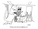 """Nobody unsubscribes from fluffykittycom"" - New Yorker Cartoon"