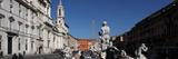 Fontana del Moro (Fountain of the Moor)  Piazza Navona  Rome  Italy