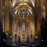 Cathedral of the Holy Cross and Saint Eulalia  Barcelona  Spain