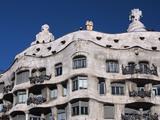 La Pedrera  Gaudi  Barcelona  Spain