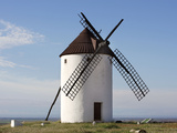 Windmill  Castilla la Mancha  Spain