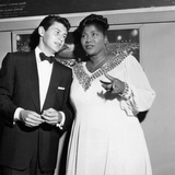 Mahalia Jackson  Eddie Fisher - 1955