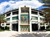 A view of Alex Rodriguez Park at the University of Miami in Coral Gables  Florida