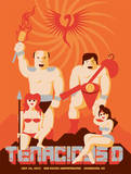 Tenacious D Concert Poster