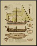 Antique Ship Plan II