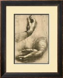 Study of Female Hands  Drawing  Royal Library  Windsor