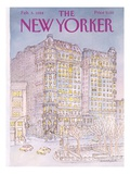 The New Yorker Cover - February 6  1984