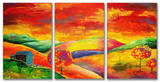 Day Dreamer Triptych Art