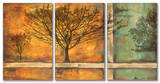 Deep Roots Triptych Art